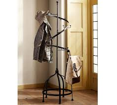Free Standing Coat Rack With Shelf Parker Coat Rack Pottery Barn 30