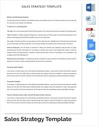Marketing Plan Template Free Strategy Templates Sample Example ...