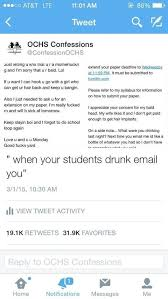 email teacher drunk student s email to teacher gets an amazing response