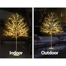 Christmas Branch Lights Twig Jingle Jollys 1 5m Led Christmas Branch Tree 304 Led Xmas