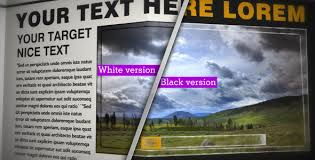 Newspaper Template After Effects Free Videohive Newspaper Black White_cs4 Free Download Free After