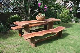 rustic garden benches cur rustic garden benches furniture sets depict of with medium image