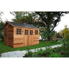 timber sheds cedar garden sheds