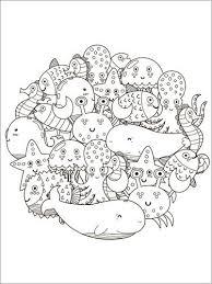 Mandala Di Animali Marini Posterloungeit