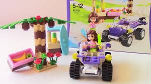 Lego Full House Lego Friends Toys Review Video Oliva Beach Buggy Car Full Episode