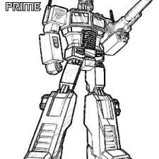 Small Picture Optimus Prime from Transformers Coloring Page Optimus Prime from