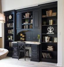 office bookshelf. Kitchen Planning Desk With Bookshelves In Almost-black Rye By Burrows  Cabinets - Central Texas Office Bookshelf F