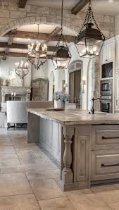 pendant lantern lighting. the unfinished edge of this counter distressed grey cabinetry u0026 pendant lantern lighting