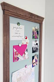 How To Make A Magnetic Memo Board Inspiration IHeart Organizing DIY Magnetic Memo Board