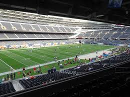Soldier Field Chicago Bears Seating Chart Soldier Field View From Media Deck 243 Vivid Seats