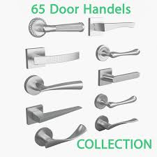 3d 65 door handles collection