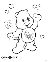 Small Picture 21 best Care Bears Coloring Pages images on Pinterest Care bears