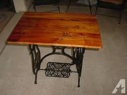 antique repurposed sewing machine table in middletown ohio