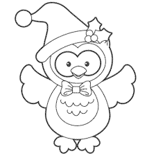 Birthday Owl Coloring Pages Noscaorg