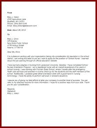 Cover Letter For School Nurse Position Brilliant Ideas Of 3 School