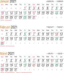 Kalender nasional tahun 2021 atau kalender masehi ini dilengkapi dengan kalender islam dan jawa 3. Template Kalender 2021 04 Toko Fadhil Template