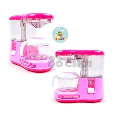 Đồ chơi đồ hàng 4 món: máy xay, máy pha cà phê, máy nướng, máy đánh trứng  dùng pin bằng nhựa cho bé - Thị trấn đồ chơi chính hãng 155,000đ