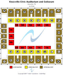 Knoxville Civic Coliseum Tickets Seating Charts And
