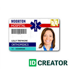 com - Label For Badge Template Ivysvariety Templates Hospital Id