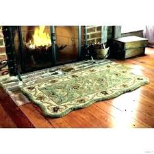 fireproof fireplace rugs rug fire resistant hearth flame fireside uk