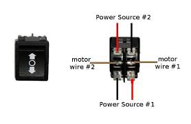 how to wire a dpdt rocker switch for reversing polarity 5 steps picture of one actuator two power sources png