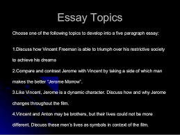 gattaca essay writing power point  26