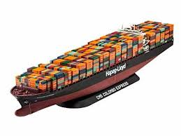 revell germany container ship colombo express model kit building