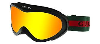 gucci goggles. amazon.com : gucci goggle *gg 1653 9id/0g* matte black red lens sports \u0026 outdoors gucci goggles