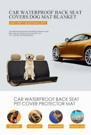 hot car seat cover waterproof mat anti mud back pet cat dog seat cushion support supply protector belts interior car styling