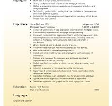 Cool Commercial Loan Processor Resume Example Ideas Example