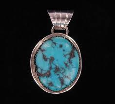 kingman turquoise stone pendant nzzp ts 17