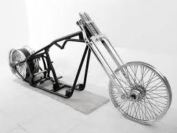 bobber 250 custom rolling chassis for harley evolution motors