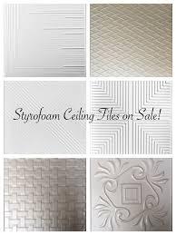best 25 styrofoam ceiling tiles ideas