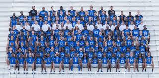 2017 Football Roster Faulkner University