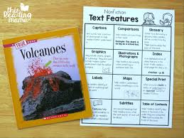 glossary for children text feature. Nonfiction Text Features Charts - Helping Readers Understand Text Features Glossary For Children Feature