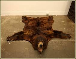 bear rug fake best 25 bear skin rug ideas on home rugs fake polar bear rug with head