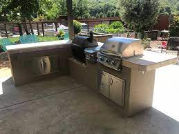 Custom Outdoor Kitchen With A Ez Life Outdoor Kitchens Facebook