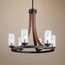 home design delightful metal and wood chandelier regarding designs 17