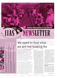 Iias Newsletter 43 By International Institute For Asian Studies Issuu