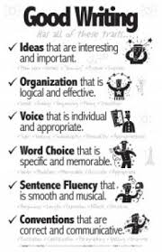 The Six Traits of Writing  Text Exemplars for Grades       Writing     SlideShare