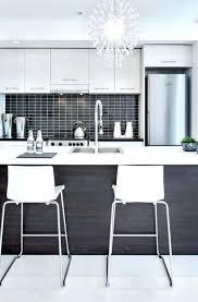 black white gray kitchen silver and backsplash tile cabinets
