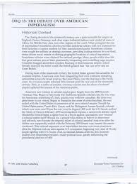 dbq the debate over american imperialism essay an error occurred