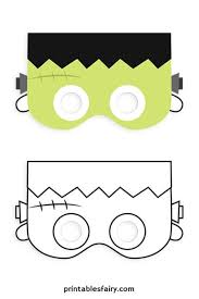 These printable halloween masks will be a hit. Printable Halloween Masks For Kids The Printables Fairy