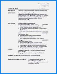 Bank Teller Entry Level Resume Sugarflesh With Entry Level Bank