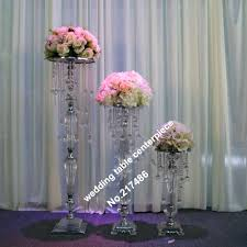 chandeliers only chandeliercrystal table top chandelier wedding table centerpieces withwout the flower and flower vase