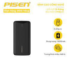 Sạc dự phòng cao cấp PISEN PRO ALL 10000mAh (QC/PD, FCP, Quick 22.5W) - Hỗ  trợ sạc nhanh cho mọi thiết bị