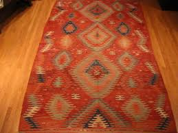 authentic beautiful vintage turkish kilim rug for