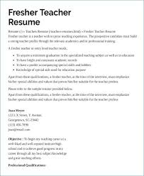 Examples Of Resumes For Teachers Delectable Daycare Teacher Resume Luxury Example Resumes For Teachers Examples