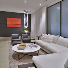 Wide Chairs Living Room Modern Design A Comfortable Living Room With White Sofa Home
