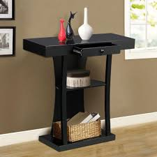 hall entryway furniture. amazoncom topeakmart 3 tier black console table with drawers u0026 collection shelf hallway entryway furniture kitchen dining hall